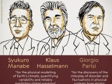 2021年诺贝尔物理学奖揭晓