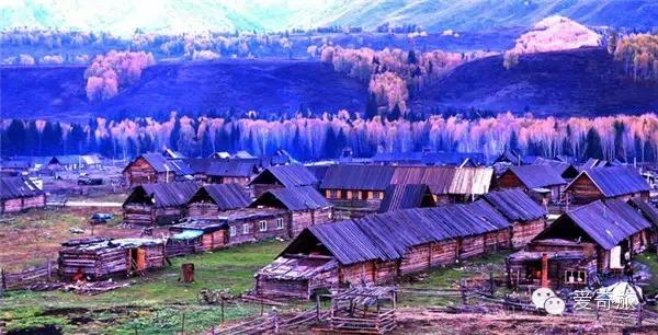 新疆布尔津县 禾木村