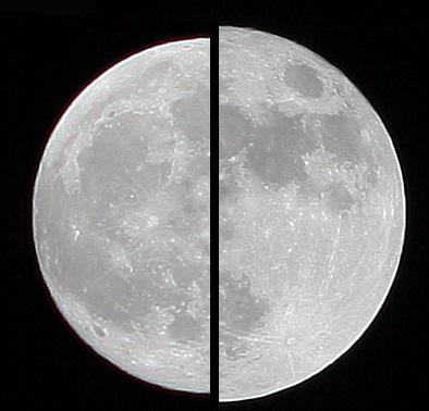 超级月亮邂逅红月亮,错过了还要再等18年
