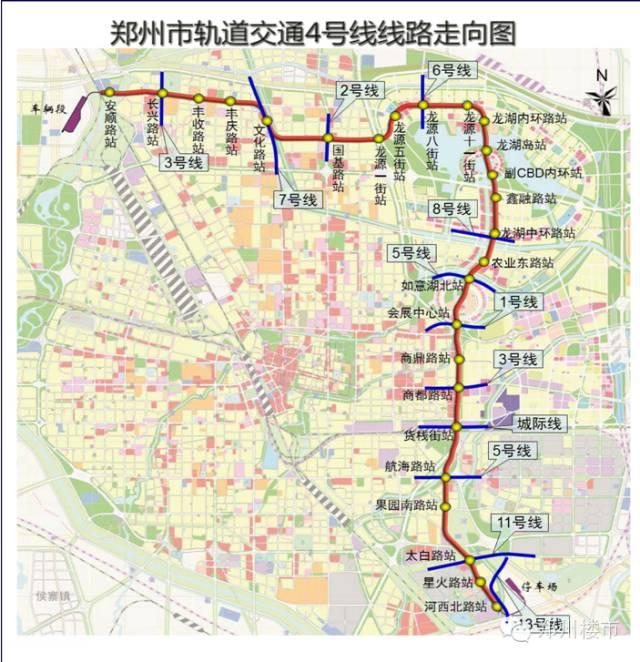 郑州地铁 1-17号线 站点名单,有经过你家门口吗?