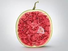 夏日西瓜的正确吃法