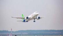 祝贺国产大飞机C919成功首飞