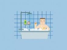 洗澡时不能犯的7大错误,你中了几个?