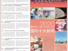 人民日报社评选2020国内十大新闻